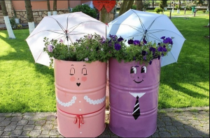 Oil-Drums-Planters